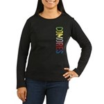 Comores Women's Long Sleeve Dark T-Shirt