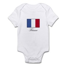 France - Flag of France Infant Bodysuit