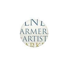 Olney Farmers  Artists Market Mini Button