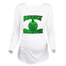 Keezy Monster Long Sleeve Maternity T-Shirt