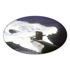 st uss houston sticker Decal