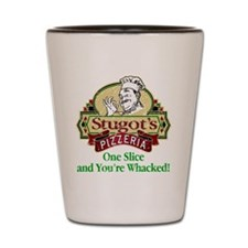 Stugot's Pizzeria Shot Glass
