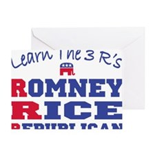 Romney Rice Republican 2012 Greeting Card