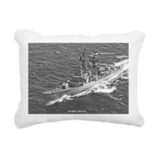 gc uss hull greeting car Rectangular Canvas Pillow