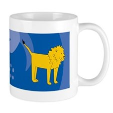 Lion 36x11 Wall Decal Mug