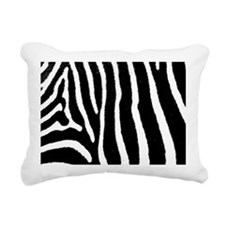 Zebra Pattern Hitch Rectangular Canvas Pillow