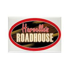 Harvelles Roadhouse Rectangle Magnet
