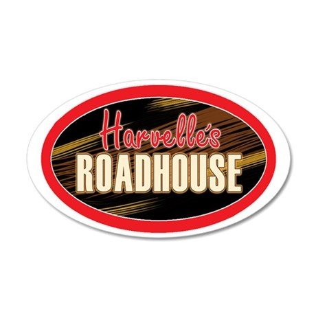 Harvelles Roadhouse 35x21 Oval Wall Decal