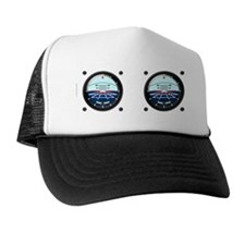 Artificial Horizon (white) Trucker Hat