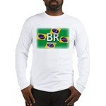 Brazil Pride Long Sleeve T-Shirt