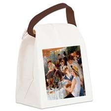 Renoir Luncheon Of The Boating Pa Canvas Lunch Bag