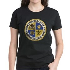 uss long beach patch transpar Tee