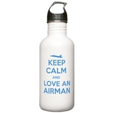 Keep Calm and Love an  Water Bottle