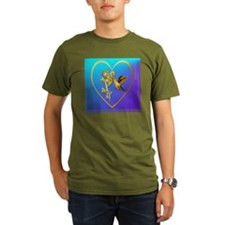 Gold Hummingbird Jewe T-Shirt