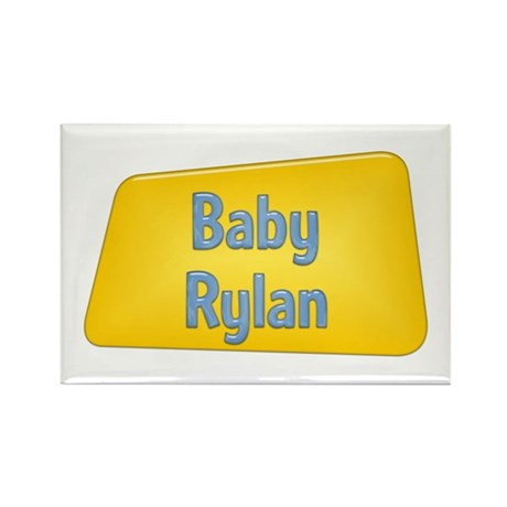 Baby Rylan Rectangle Magnet (100 pack)