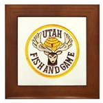 Utah Game Warden Framed Tile