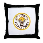 Utah Game Warden Throw Pillow