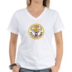 Utah Game Warden Women's V-Neck T-Shirt