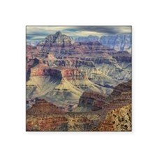 "Grand Canyon 2 Square Sticker 3"" x 3"""