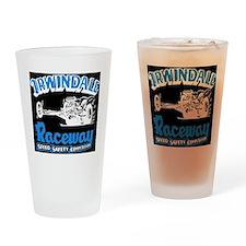 Old Irwindale Logo Black Drinking Glass