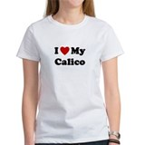 I Love My Calico Tee