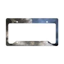 Lava Steam Plume License Plate Holder