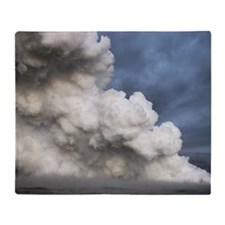 Lava Steam Plume Throw Blanket