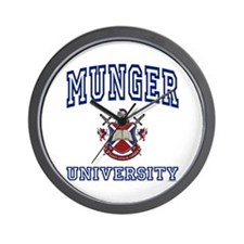 MUNGER University Wall Clock