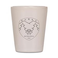 Parks Recreation Ale Shot Glass