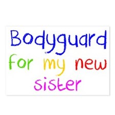 Bodyguard Postcards (Package of 8)