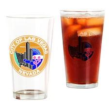 Las Vegas Seal Drinking Glass