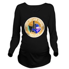 Las Vegas Seal Long Sleeve Maternity T-Shirt