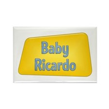 Baby Ricardo Rectangle Magnet