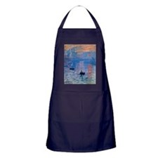 Monet Sunrise Apron (dark)