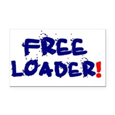 FREE LOADER Rectangle Car Magnet