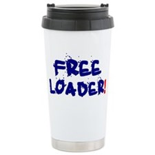 FREE LOADER Ceramic Travel Mug
