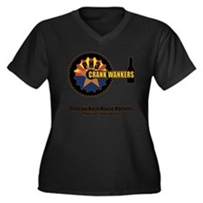 Phoenix BASH Women's Plus Size Dark V-Neck T-Shirt