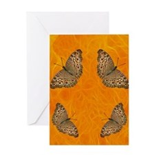 Butterfly Fires Greeting Card