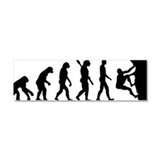 Evolution climbing Car Magnet 10 x 3