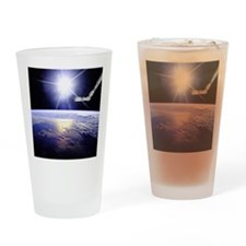 queen_duvet Drinking Glass