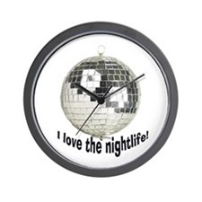Disco Ball Wall Clock