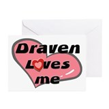 draven loves me  Greeting Cards (Pk of 10)