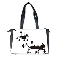 Mars Rovers Diaper Bag