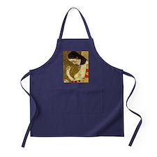 Gustav Klimt Hope Apron (dark)
