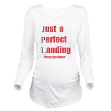 Mars Curiosity Rover Long Sleeve Maternity T-Shirt