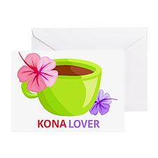 Kona Lover Greeting Card