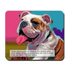 Dog Quote Mousepad
