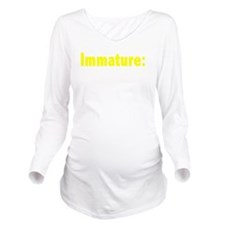 yyyhrbbrvited-1 Long Sleeve Maternity T-Shirt