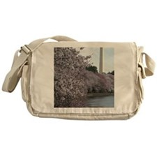 Peal bloom cherry blossom frames Was Messenger Bag