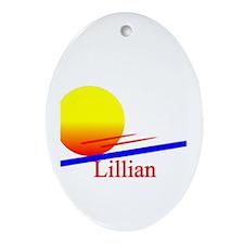 Lillian Oval Ornament